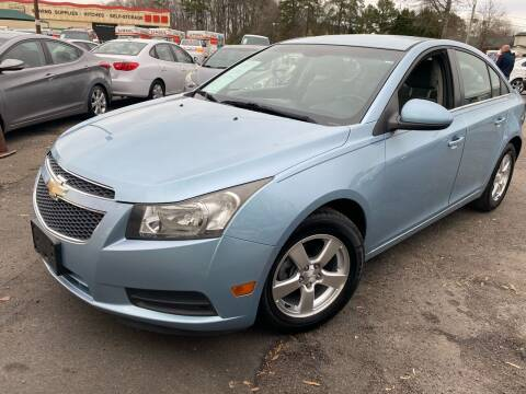 2012 Chevrolet Cruze for sale at Atlantic Auto Sales in Garner NC