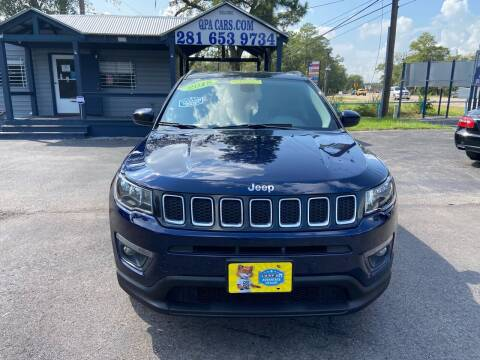 2018 Jeep Compass for sale at QUALITY PREOWNED AUTO in Houston TX