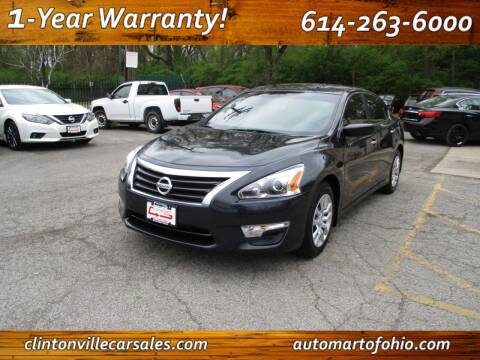 2015 Nissan Altima for sale at Clintonville Car Sales - AutoMart of Ohio in Columbus OH