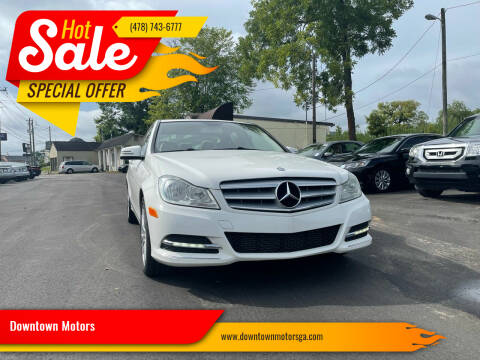 2013 Mercedes-Benz C-Class for sale at Downtown Motors in Macon GA