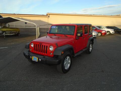 2016 Jeep Wrangler Unlimited for sale at Team D Auto Sales in St George UT