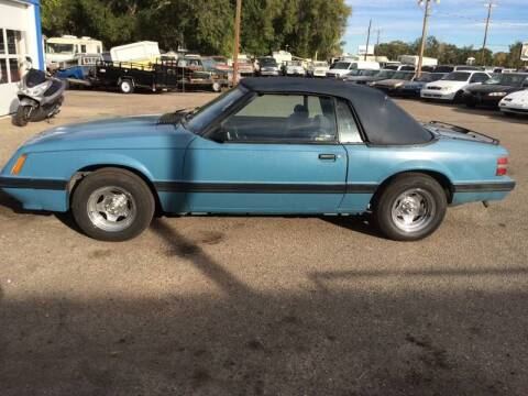 1986 Ford Mustang for sale at AFFORDABLY PRICED CARS LLC in Mountain Home ID