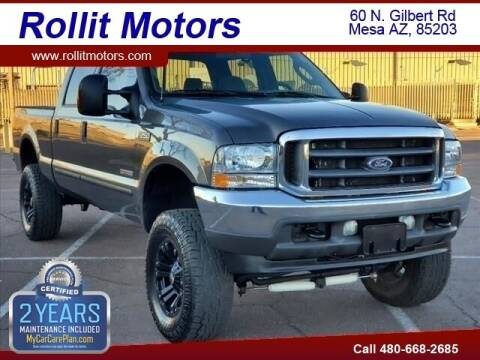 2004 Ford F-250 Super Duty for sale at Rollit Motors in Mesa AZ