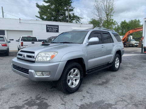 2004 Toyota 4Runner for sale at Tennessee Auto Sales in Elizabethton TN