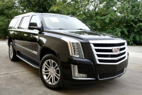 2016 Cadillac Escalade ESV for sale at CU Carfinders in Norcross GA