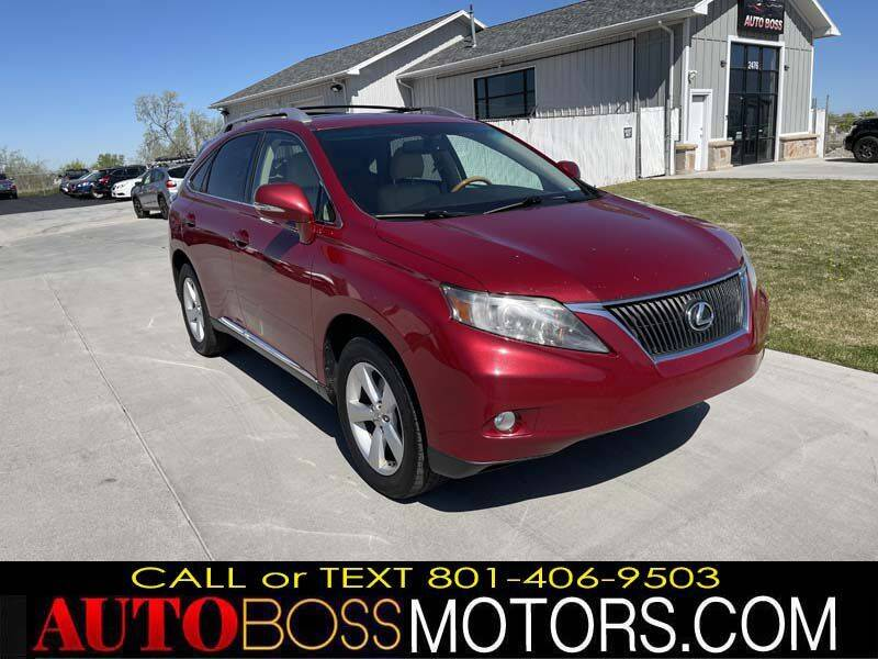 2010 Lexus RX 350 for sale at Auto Boss in Woods Cross UT