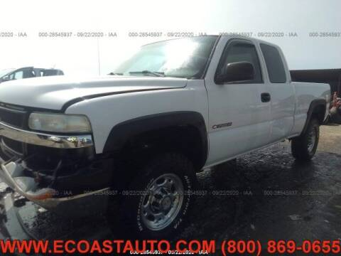 2002 Chevrolet Silverado 2500HD for sale at East Coast Auto Source Inc. in Bedford VA