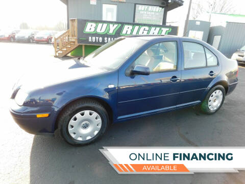 2001 Volkswagen Jetta for sale at Buy Right Auto Sales Inc in Fort Wayne IN