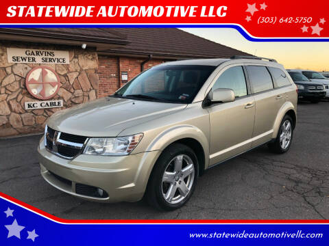 2010 Dodge Journey for sale at STATEWIDE AUTOMOTIVE LLC in Englewood CO