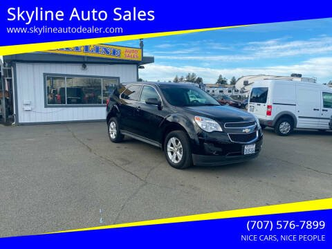 2015 Chevrolet Equinox for sale at Skyline Auto Sales in Santa Rosa CA