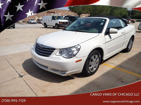 2008 Chrysler Sebring for sale at Cargo Vans of Chicago LLC in Mokena IL