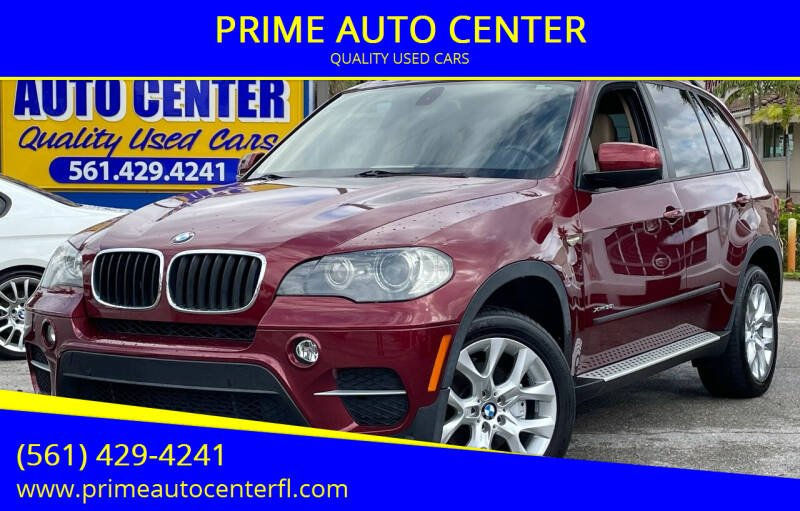 2011 BMW X5 for sale at PRIME AUTO CENTER in Palm Springs FL