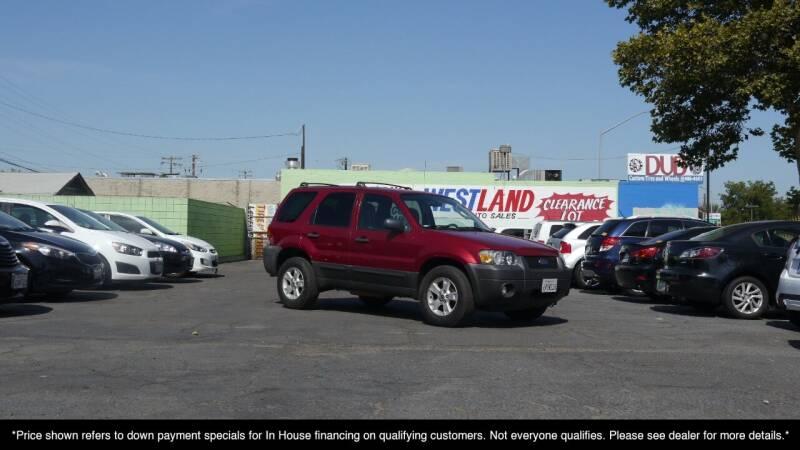 2007 Ford Escape for sale at Westland Auto Sales in Fresno CA