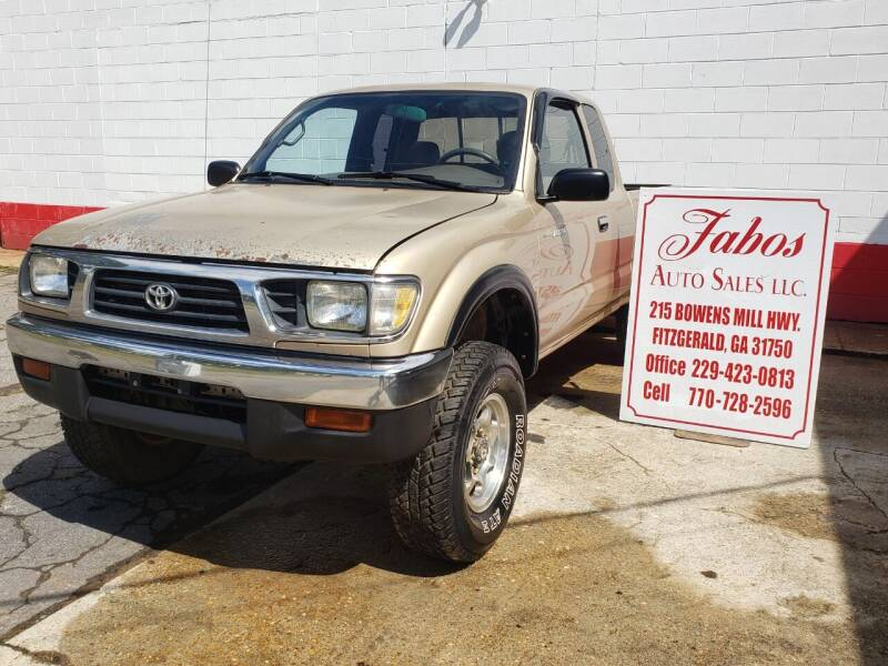 1996 Toyota Tacoma for sale at Fabos Auto Sales LLC in Fitzgerald GA