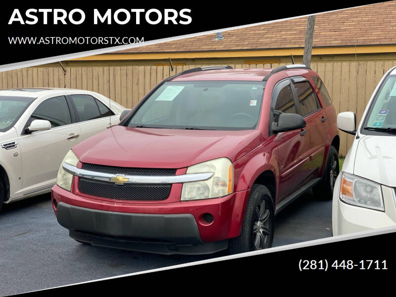 2006 Chevrolet Equinox for sale at ASTRO MOTORS in Houston TX