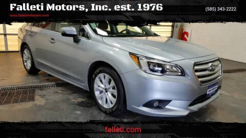 2016 Subaru Legacy for sale at Falleti Motors, Inc.  est. 1976 in Batavia NY