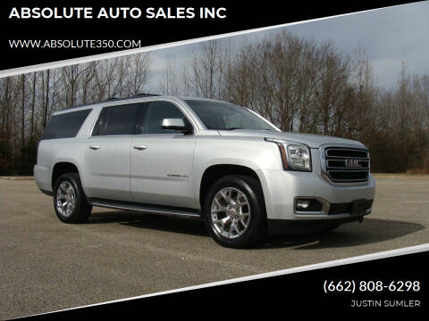 2015 GMC Yukon XL for sale at ABSOLUTE AUTO SALES INC in Corinth MS