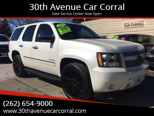 2011 Chevrolet Tahoe for sale at 30th Avenue Car Corral in Kenosha WI