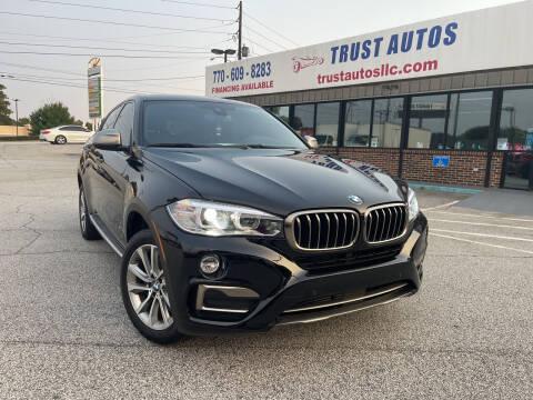 2018 BMW X6 for sale at Trust Autos, LLC in Decatur GA