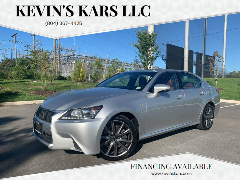 2014 Lexus GS 350 for sale at Kevin's Kars LLC in Richmond VA