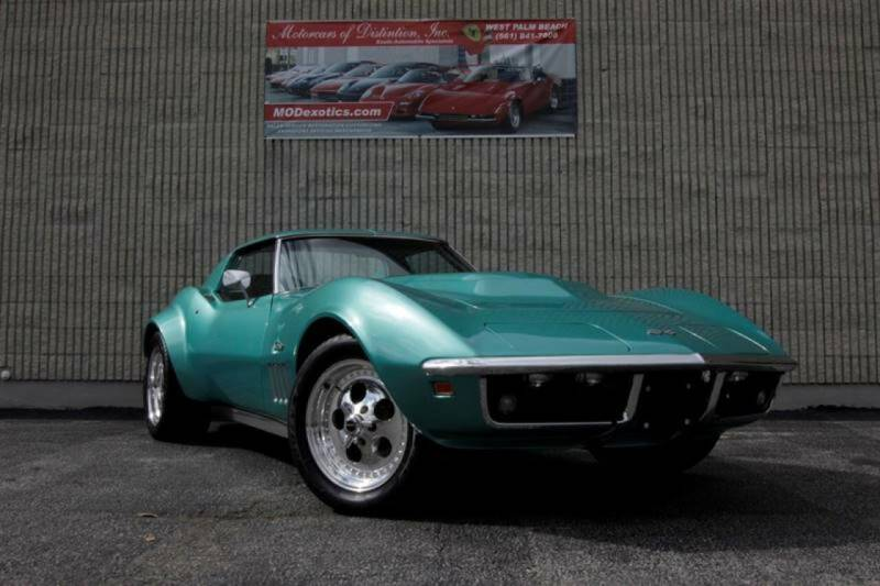 1969 Chevrolet Corvette for sale at MOTORCARS OF DISTINCTION INC in West Palm Beach FL