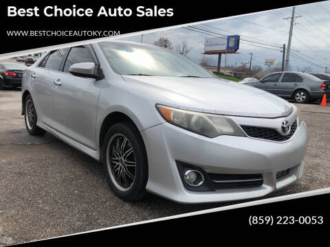 2014 Toyota Camry for sale at Best Choice Auto Sales in Lexington KY