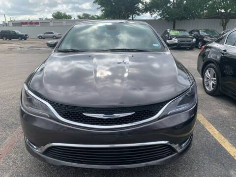 2015 Chrysler 200 for sale at Magic Auto Sales in Dallas TX