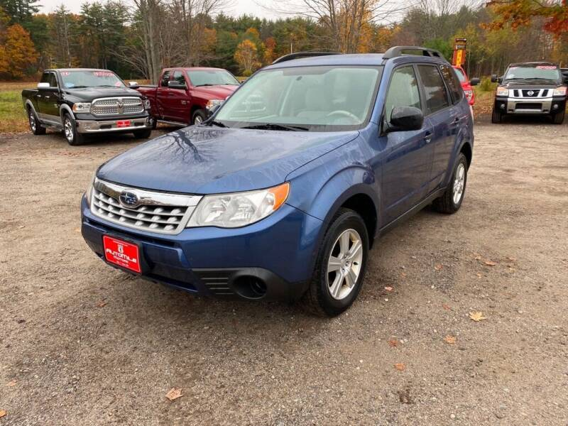 2013 Subaru Forester for sale at AutoMile Motors in Saco ME