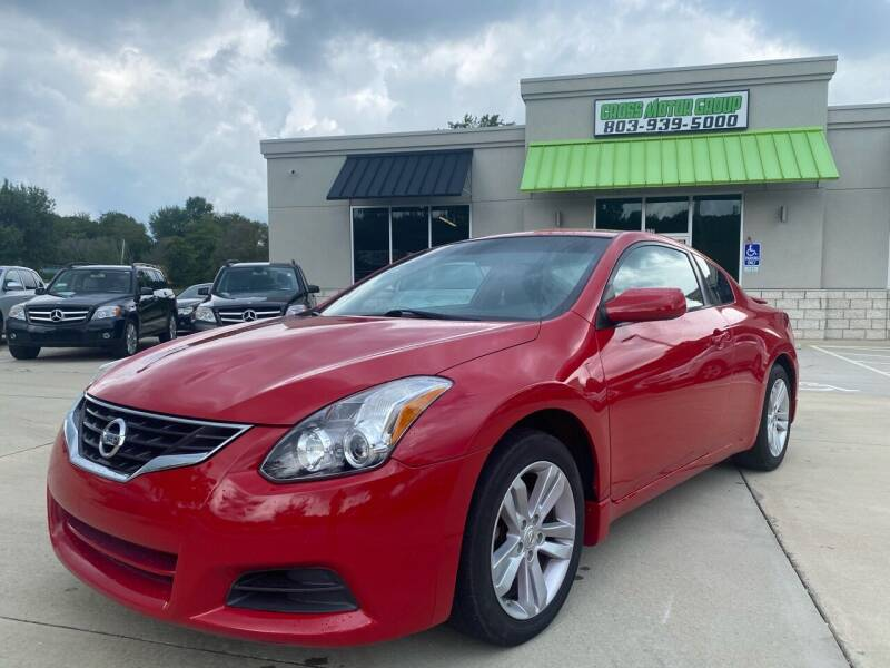 2012 Nissan Altima for sale at Cross Motor Group in Rock Hill SC