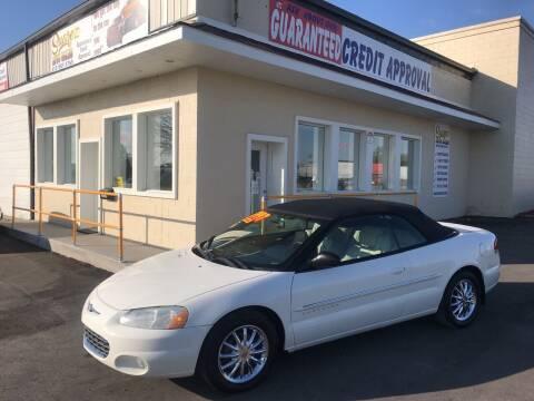 2001 Chrysler Sebring for sale at Suarez Auto Sales in Port Huron MI