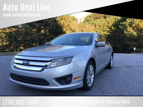 2010 Ford Fusion for sale at Auto Deal Line in Alpharetta GA
