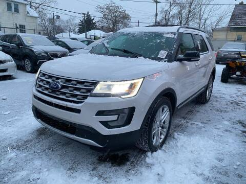 2017 Ford Explorer for sale at C & M Auto Sales in Detroit MI