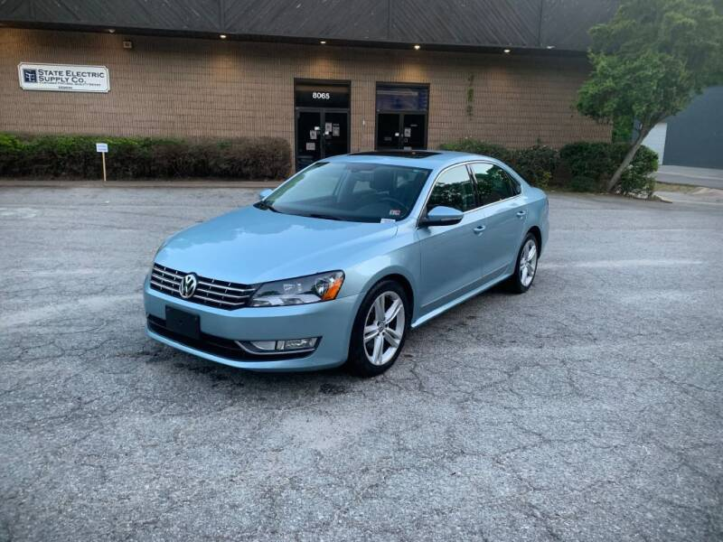 2012 Volkswagen Passat for sale at Adrenaline Autohaus in Cary NC