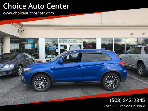 2019 Mitsubishi Outlander Sport for sale at Choice Auto Center in Shrewsbury MA
