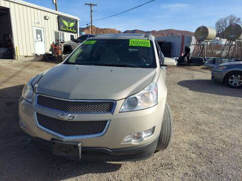 2010 Chevrolet Traverse for sale at Canyon View Auto Sales in Cedar City UT