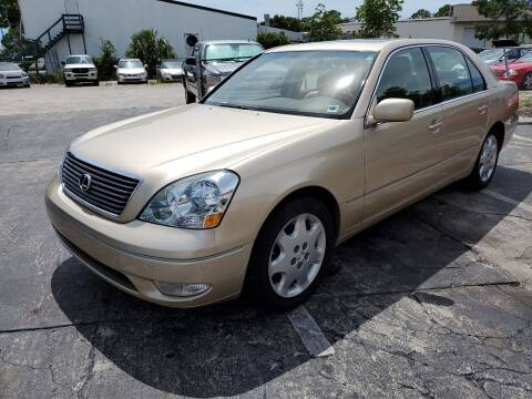 2003 Lexus LS 430 for sale at CAR-RIGHT AUTO SALES INC in Naples FL