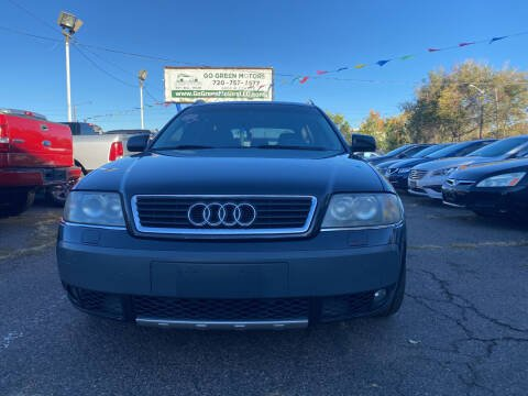 2005 Audi Allroad for sale at GO GREEN MOTORS in Lakewood CO