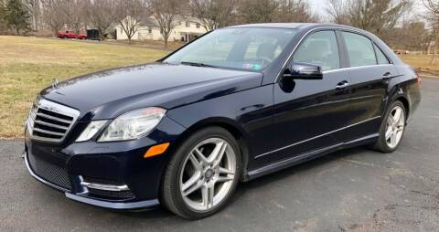 2013 Mercedes-Benz E-Class for sale at Mayer Motors of Pennsburg in Pennsburg PA