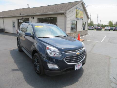 2017 Chevrolet Equinox for sale at Tri-County Pre-Owned Superstore in Reynoldsburg OH
