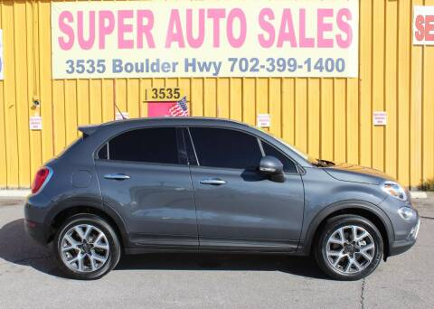 2017 FIAT 500X for sale at Super Auto Sales in Las Vegas NV