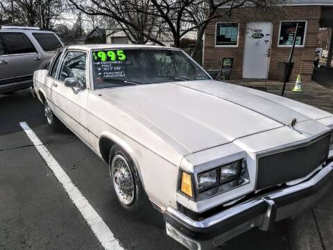 1984 Buick LeSabre for sale at Oak Hill Auto Sales of Wooster, LLC in Wooster OH