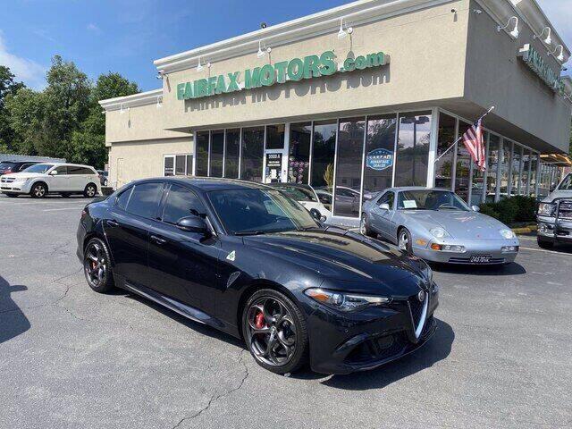 2017 Alfa Romeo Giulia Quadrifoglio for sale in Fairfax, VA
