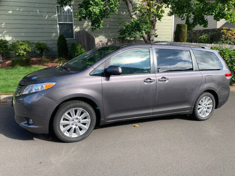 2011 Toyota Sienna for sale at Wild About Cars Garage in Kirkland WA