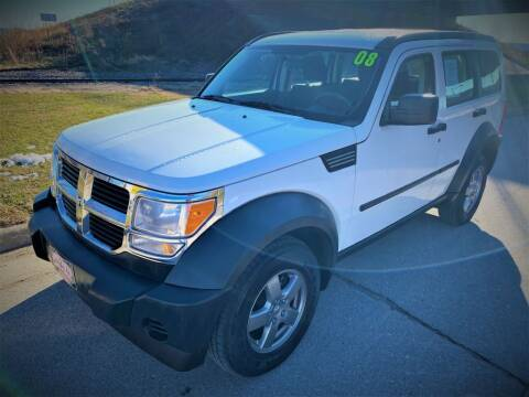 2008 Dodge Nitro for sale at Apple Auto in La Crescent MN