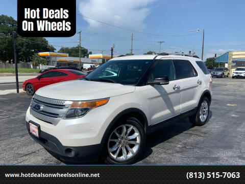 2015 Ford Explorer for sale at Hot Deals On Wheels in Tampa FL