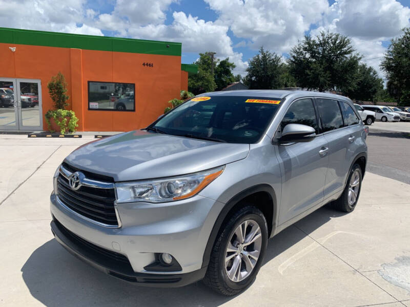 2014 Toyota Highlander for sale at Galaxy Auto Service, Inc. in Orlando FL