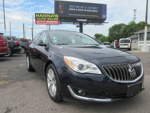 2015 Buick Regal for sale at Hanna's Auto Sales in Indianapolis IN
