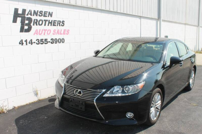 2014 Lexus ES 350 for sale at HANSEN BROTHERS AUTO SALES in Milwaukee WI