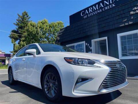 2018 Lexus ES 350 for sale at Carmania of Stevens Creek in San Jose CA