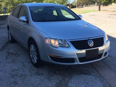 2008 Volkswagen Passat for sale at TETCO AUTO SALES  / TETCO FUNDING in Dallas TX